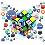 social media puzzle cube